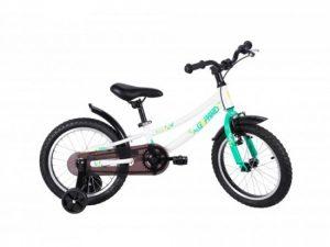 Детски велосипед Gepard Archie 16″ – от 4 до 6 г., бяло-зелен