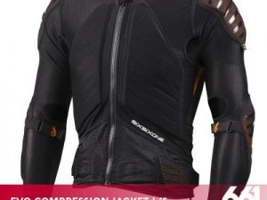 661 EVO COMPRESSION JACKET LONG SLEEVE black
