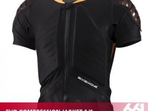 661 EVO COMPRESSION JACKET SHORT SLEEVE black