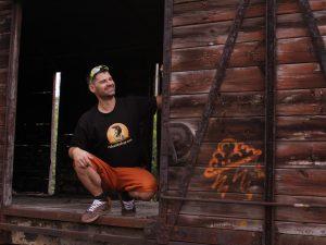 """Мъжка тениска """"Bear Things"""" – 100% памук, черна"""