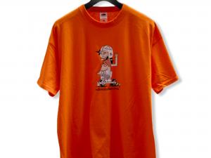 """Мъжка тениска """"Silly Boy"""" – 100% памук, оранжева"""
