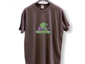 """Мъжка тениска """"Mountain Biker"""" – 100% памук, светло сива"""
