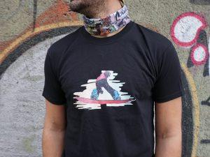 Мъжка тениска 'Сноуборд'