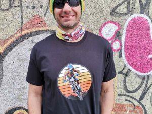Мъжка тениска 'DH Racer'